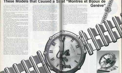 1984: Quand Gérald Genta défiait l'establishment horloger