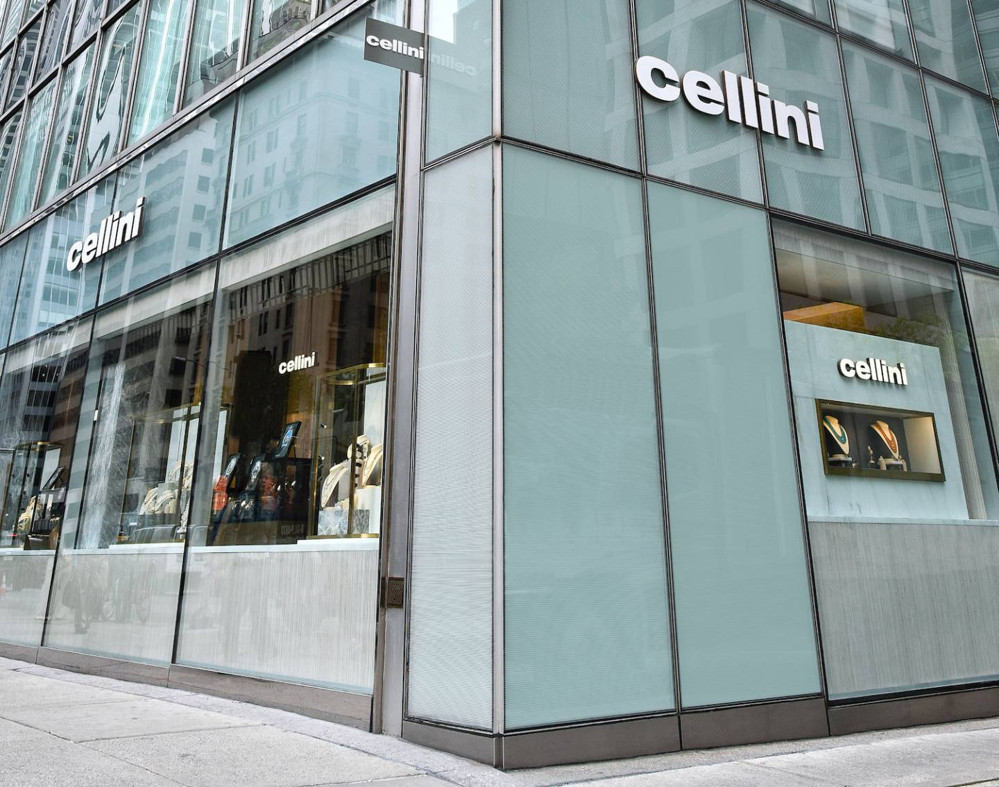 La nouvelle boutique de Cellini sur Park Avenue à New York