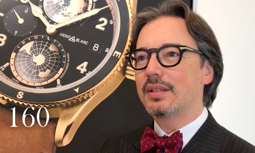 INTERVIEW AVEC DAVIDE CERRATO, MONTBLANC WATCH DIVISION