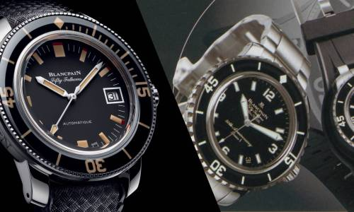 Blancpain: l'insubmersible Fifty Fathoms