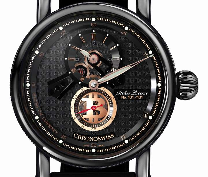 Chronoswiss Flying Regulator Open Gear Bitcoin Edition