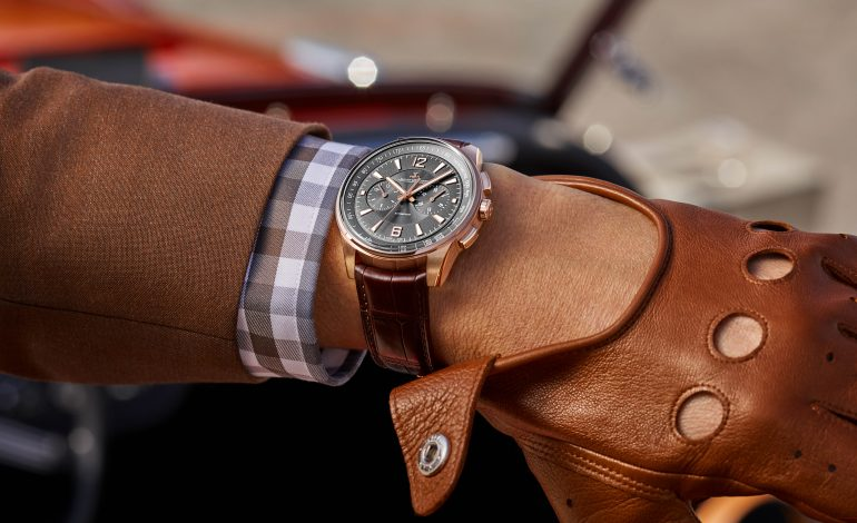 Polaris Chronograph en or, Jaeger-LeCoultre