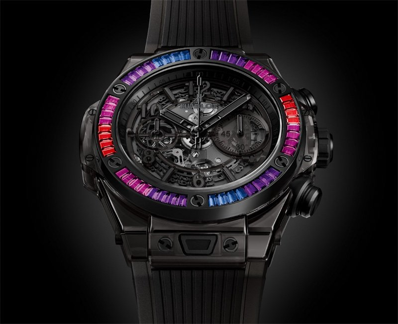 Big Bang Unico Sapphire All Black Galaxy